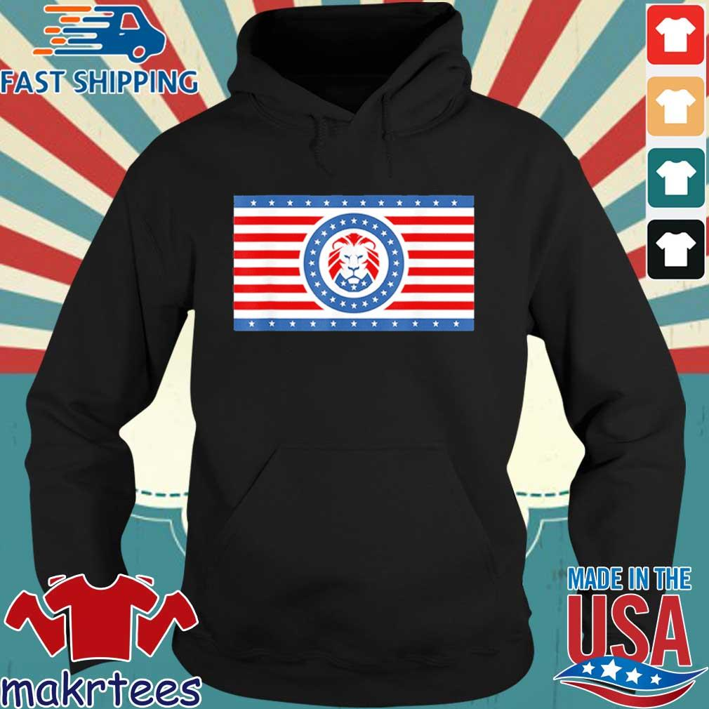 Official Maga Lion flag Patriot party flag s Hoodie den