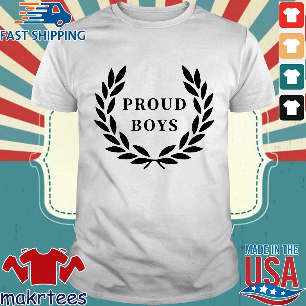 Official Proud Boys Shirt Shirt trang
