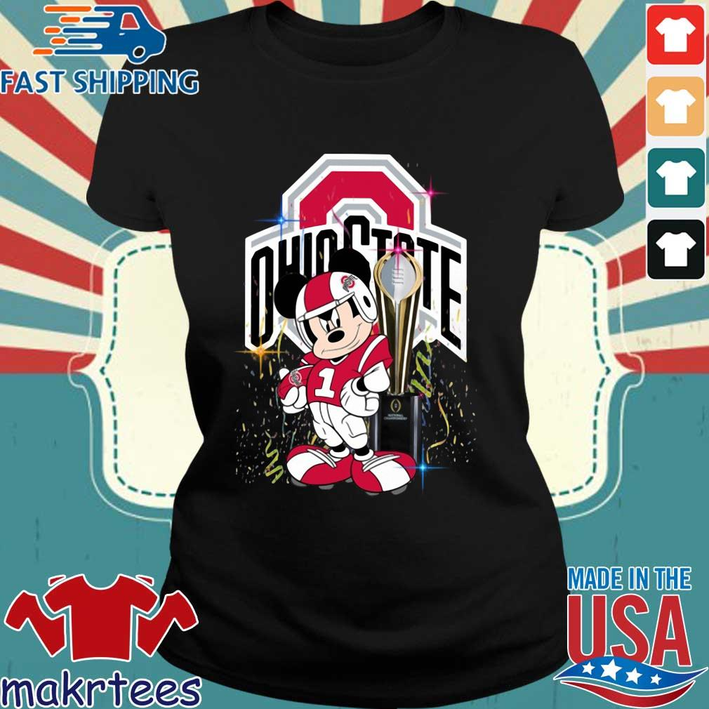 Ohio State Buckeyes Mickey Mouse National Championship trophy s Ladies den