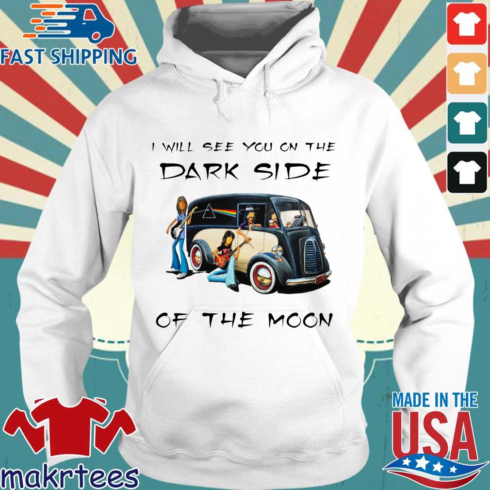 Pink Floyd I will see you on the dark side of the moon s Hoodie trang