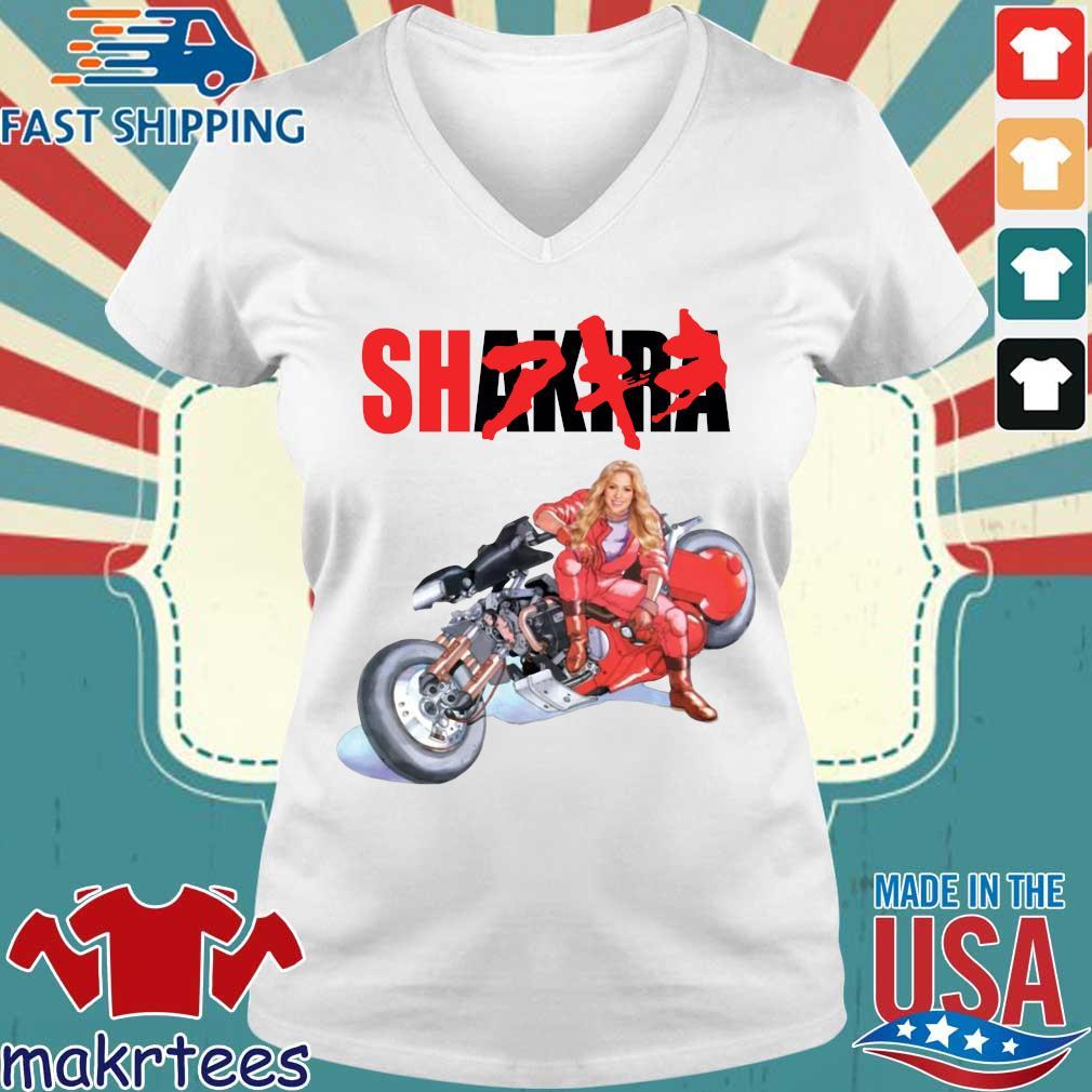Shakira Akira s Ladies V-neck trang