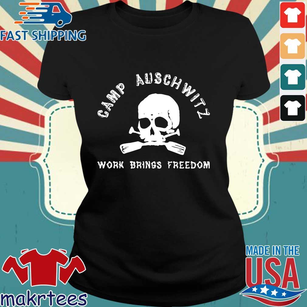 Skull camp auschwitz work brings freedom s Ladies den