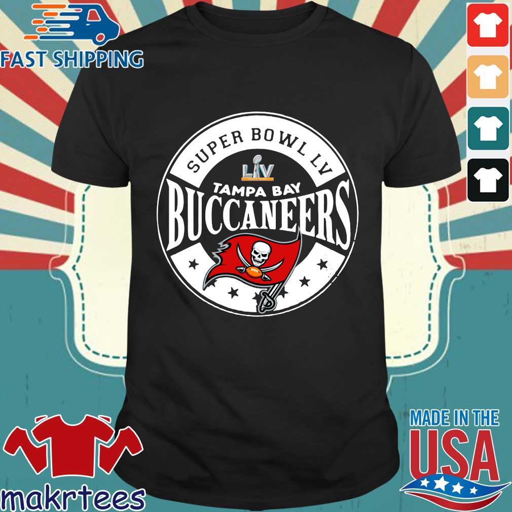 Super Bowl LV Tampa Bay Buccaneers shirt