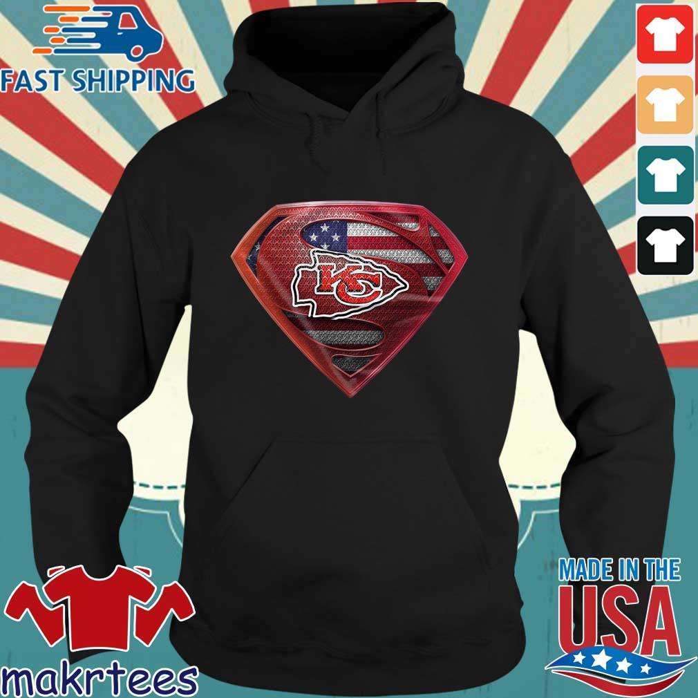 Superman Kansas City Chiefs s Hoodie den