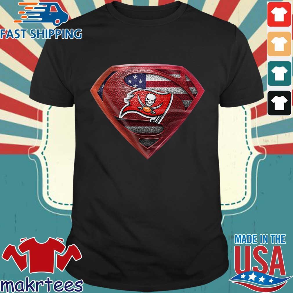 Superman Tampa Bay Buccaneers shirt