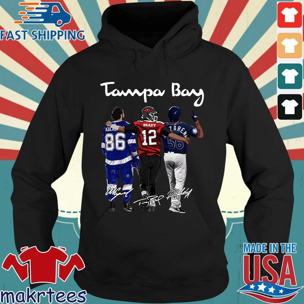 Tampa Bay Nikita Kucherov Brady Randy Arozarena signatures t-shirts Hoodie den