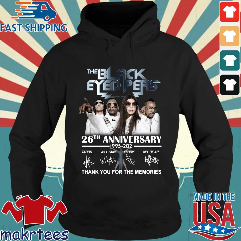 The Black Eyed Peas 26th anniversary 1995-2021 thank you for the memories signatures s Hoodie den
