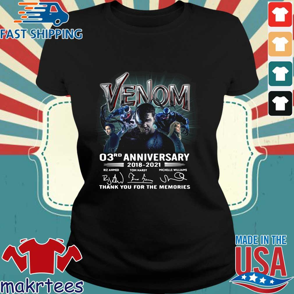 Venom 03rd anniversary thank you for the memories signatures s Ladies den
