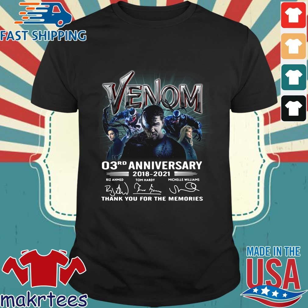 Venom 03rd anniversary thank you for the memories signatures s Shirt den