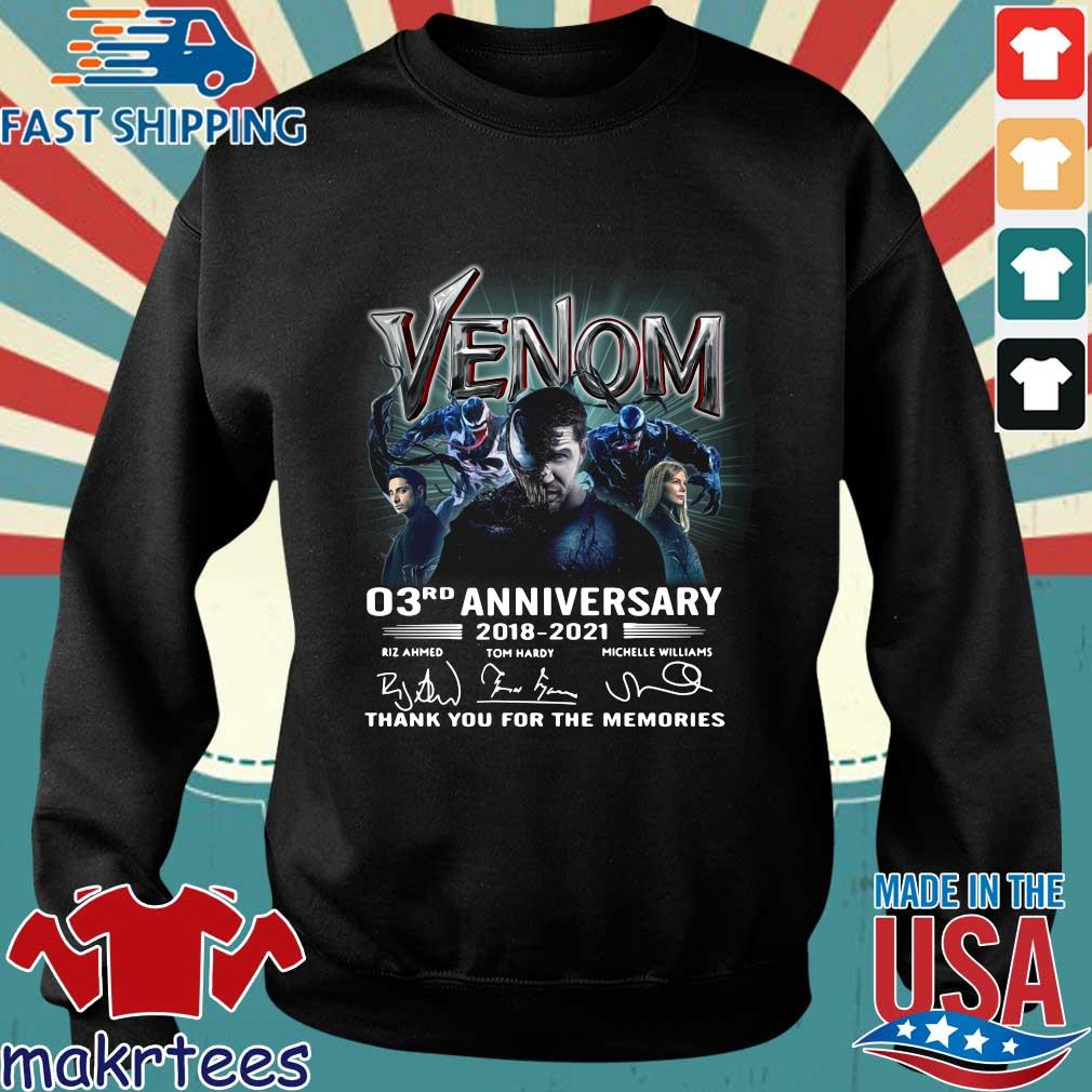 Venom 03rd anniversary thank you for the memories signatures shirt